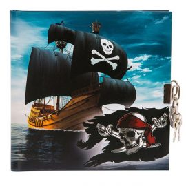 CARNET INTIME TURNOWSKY 96 PAGES – 16,5 x 16,5 cm – PIRATES