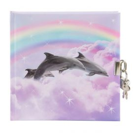 CARNET INTIME TURNOWSKY 96 PAGES – 16,5 x 16,5 cm – DAUPHINS