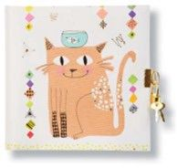 CARNET INTIME TURNOWSKY 96 PAGES – 16,5 x 16,5 cm – CATS