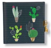 CARNET INTIME TURNOWSKY 96 PAGES – 16,5 x 16,5 cm – CACTUS COLLECTION