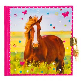 CARNET INTIME TURNOWSKY 96 PAGES – 16,5 x 16,5 cm – CHEVAL