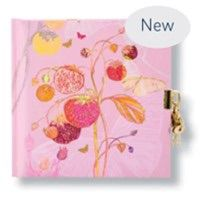 CARNET INTIME TURNOWSKY 96 PAGES – 16,5 x 16,5 cm – PINK STRAWBERRY