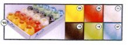 PLATEAU DE 24 ŒUFS BOLDUC LISSE 7mm x 10m SOUS COQUE ASSORTIS