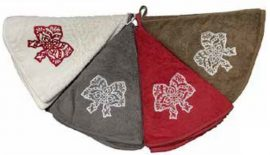 ESSUIE-MAINS EPONGE x70cm – BRODERIE COIFFE ALSACE – TAUPE