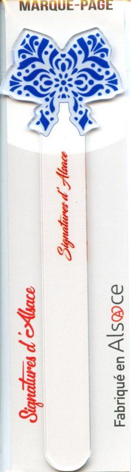 MARQUE-PAGES PLEXIGLAS Signatures d'Alsace